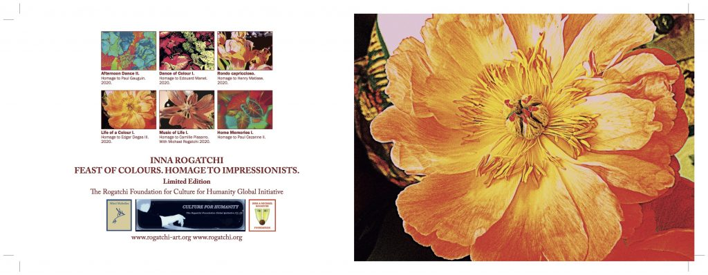 Homage to Impressionists: New exclusive art collection in support of Culture for Humanity global initiative